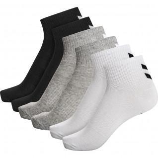 Confezione da 6 calze da donna di media lunghezza Hummel hmlchevron