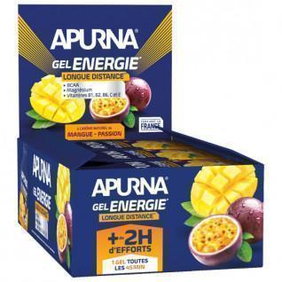 Confezione da 24 gel di mango Apurna Energy Passion - 35g