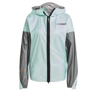 Giacca da pioggia da donna adidas Terrex Agravic Pro Trail Running
