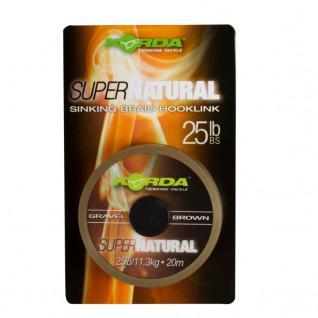 Filo intrecciato per carpa Korda Super Natural 25lb