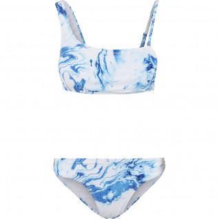 Bikini da donna Urban Classics top asimmetrico